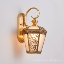 Brass wall light modern bedroom copper light wall bedside light wall reading lamp indoor sconce lamp