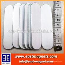 Big Bar Neodym-Magnet mit zwei runden Seite / ndfeb starken Magnet mit Zn beschichtet