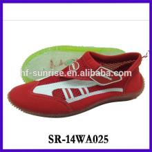 Zapatos de goma del agua de la manera zapatos antirresbaladizos del agua zapatos de la playa de la aguamarina