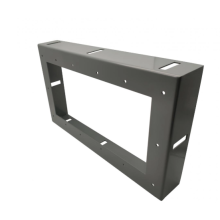 Sheet metal frame wall-mounted