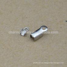 BXG035 Alta calidad al por mayor baratos accesorios de joyería de Clip de cable de acero inoxidable y componentes