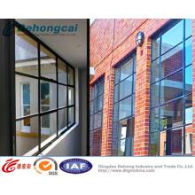 Фикчированное окно Поставкы фабрики Китая Алюминиевый / ПВХ с высоким качеством