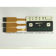 Flat Overlay with Three Flexible Copper Circuit