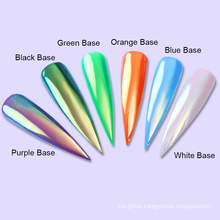 Aurora pigment powder /Rainbow mirror powder for nail art