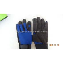Labor Glove- Working Glove- Safety Glove-Synthetic Leather Glove-Working Glove