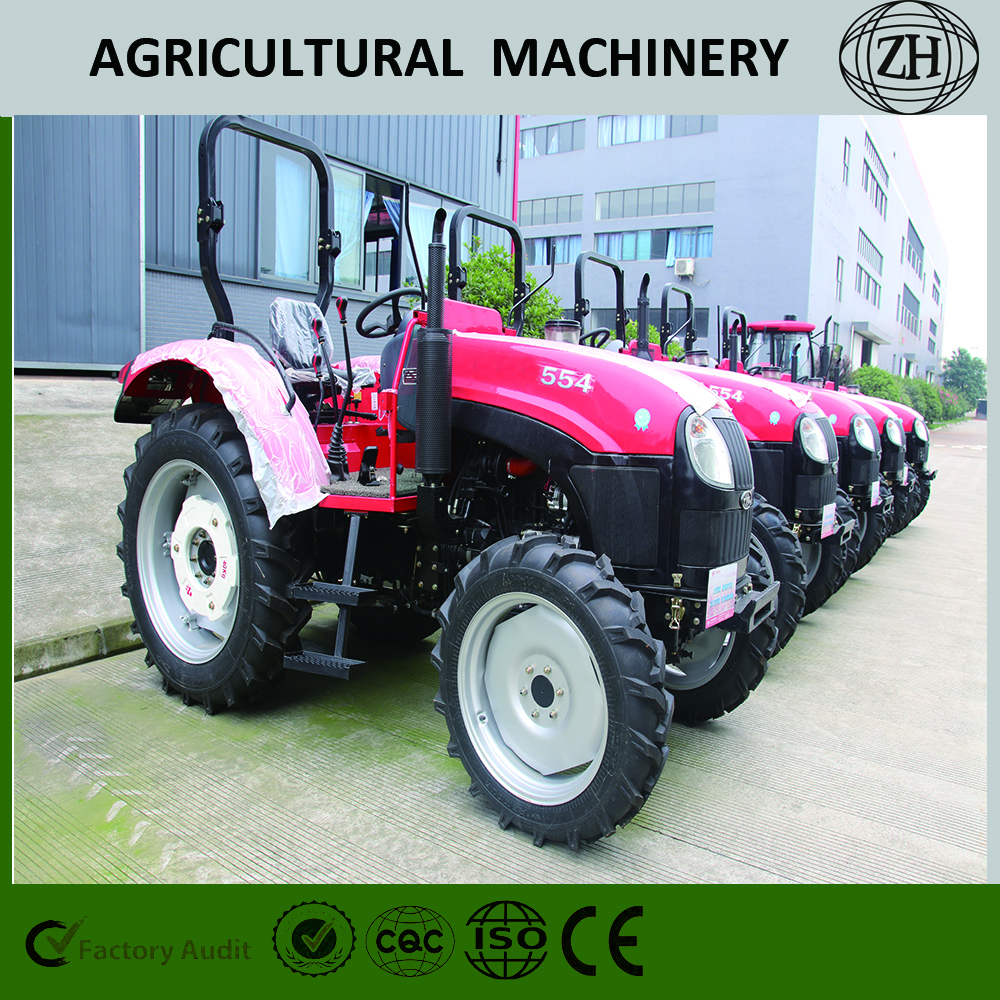 Agricultural 2WD 40HP 400 Wheeled Farm Tractor