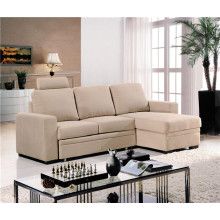 Living Room Sofa with Modern Genuine Leather Sofa Set (753C)