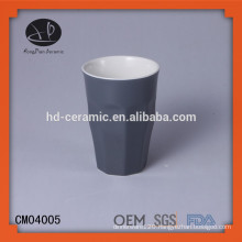 stoneware material mug without handle,tumblers,ceramic cup,tea cup without handle