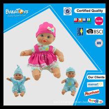 Wholesale little girls soft baby dolls for infants