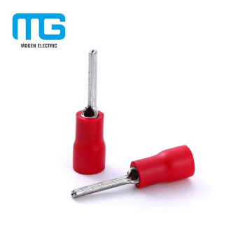 Hot Selling Copper Type Of PTV Insulated Pin Lugs For Different Colors