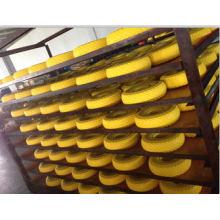 Rodas do carrinho de mão do plutônio da borracha do trole do plutônio 350-8