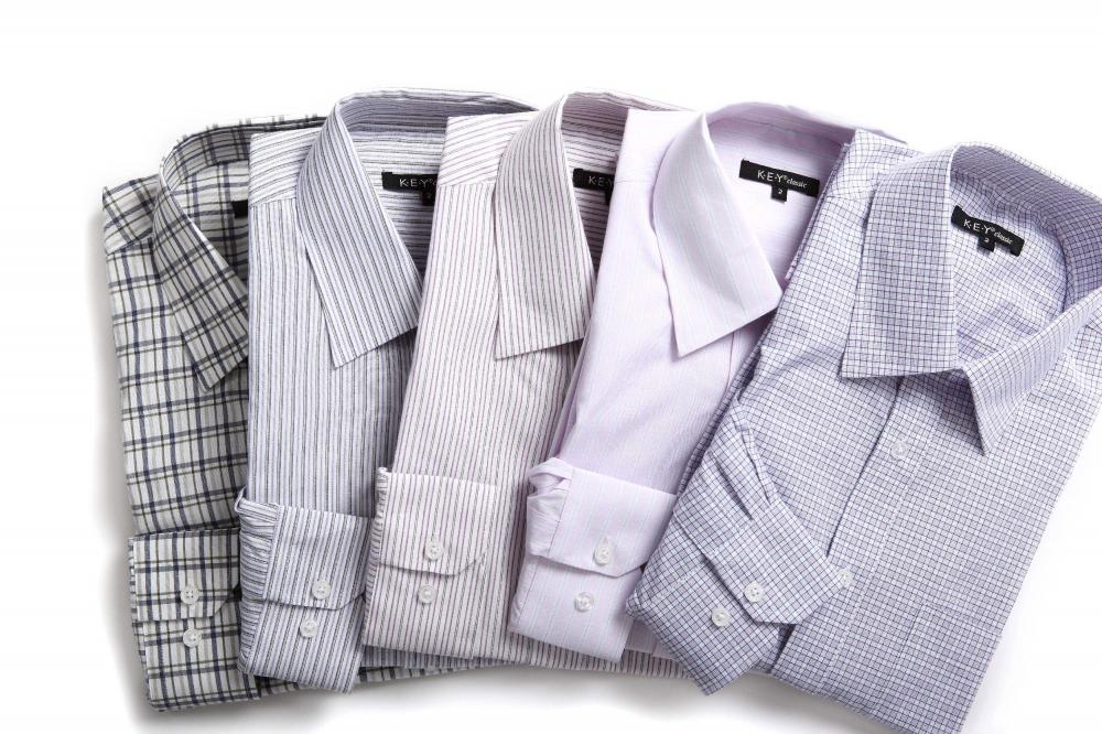 Men's stand collar shirts