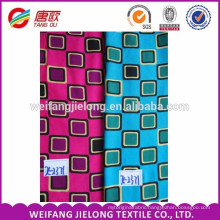 rayon printed fabric have Wave dot pattern and Snakeskin pattern