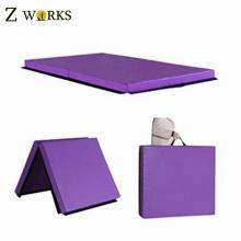 Purple Make-To-Order Folding Gym Mat Exercise Folding Foam Mat