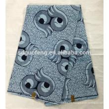 Venta al por mayor 2017 nuevo diseño de tela de cera africana