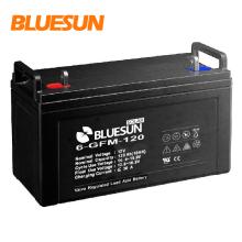 La batería recargable más pequeña de 12v 100ah 120ah 150ah para el sistema fuera de la red