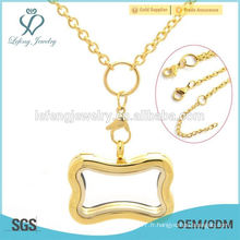 Nouveau porte-clés en acier inoxydable 18k bijoux en or