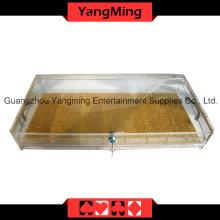 Bac à puces acrylique haute qualité avec Lock-1 (YM-CT10)