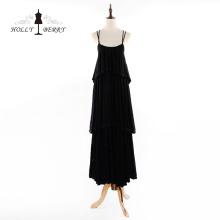 New Stylish 100%Cotton Floor-length Casual Evening Dresses