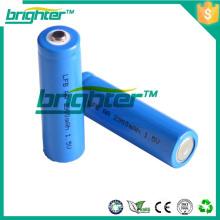 1.5V 2900mah tamanho AA Li / FeS2 bateria bateria de iões de lítio 10kwh