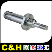 Customized CNC Turned Lathe Machining Steel Ss304 Parts