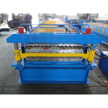 Double Layer Corrugated Roof Sheet Making Machine