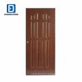 Fangda mejor precio panel upvc puertas externas