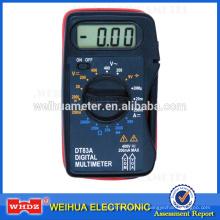 multímetro analógico de bolsillo DT83A con prueba de batería
