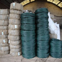 pvc coated iron wire&pvc coated gi wire&dark green pvc coated tie wire