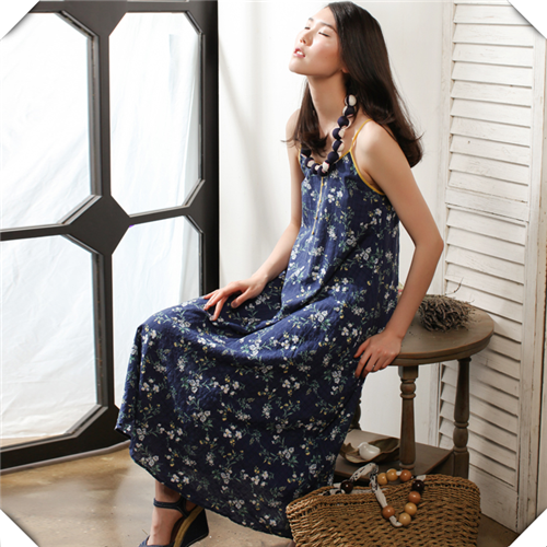 Printed Woven Muslin Textiles Fabric For Women