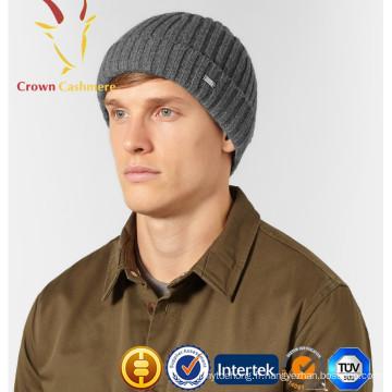 Chapeaux tricotés de laine d'hiver extérieure pour les hommes