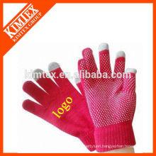 Fashion smart wool touchscreen gloves