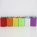Colorful solid wedding party can coolers