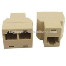 Small CAT 5 6 LAN Ethernet RJ45 Splitter Adapter