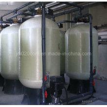 Filtro de água de mídia de controle automático com Fleck ou cabeça de válvula Runxin