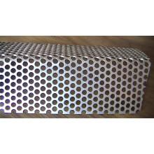 Maillot en aluminium perforé anodisé et moulé en métal perforé