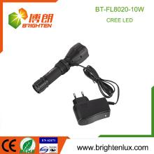 Meilleur design portable portable Aluminium haute qualité puissant rechargeable 5 modes lampe de poche extérieure avec minuterie