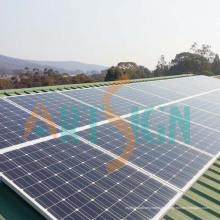 Sonnenkollektoren für Solarkraftwerk