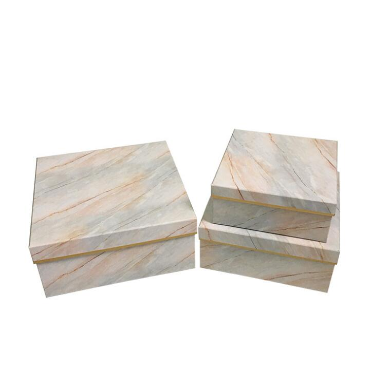 Marble pattern beautiful gift boxes for sale