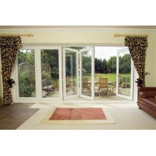 Woodwin Main Product Double Tempered Glass Thermal Break Aluminum Folding Door