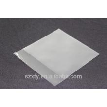 Matt surface plastic bag for packing CD disks