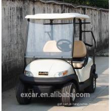 Carrinho de golfe elétrico branco de 2 seaters quente para venda