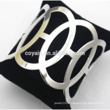 Edelstahl Schmuck Lieferanten billig Silber Armbänder Armbänder