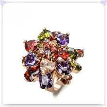 Fashion Jewellery Crystal Jewelry Alloy Ring (AL0005RG)
