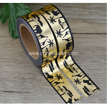 Write sticker roll custom printed reflective tape