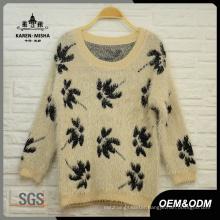 Women Maple Long Sleeve Sweater