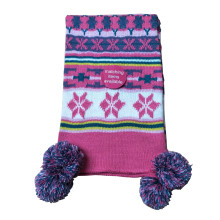 2019 new fashion children's series knitted scarf and gloves