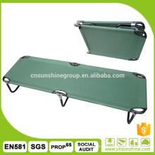 Cama plegable portátil al aire libre