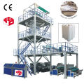 3 layer co-extrusion polypropylene film blowing machine