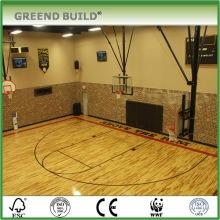 Solid wood Basketball court maple wood flooring